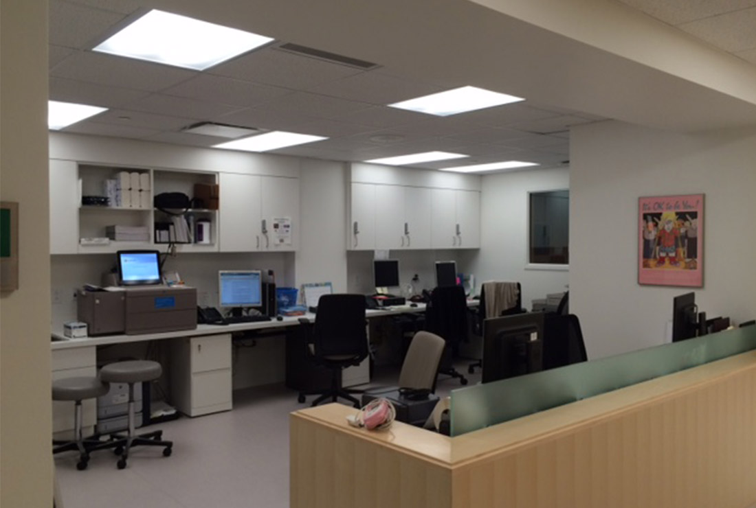 The Ruhlin Company - Cleveland Clinic Children's Hospital Renovations