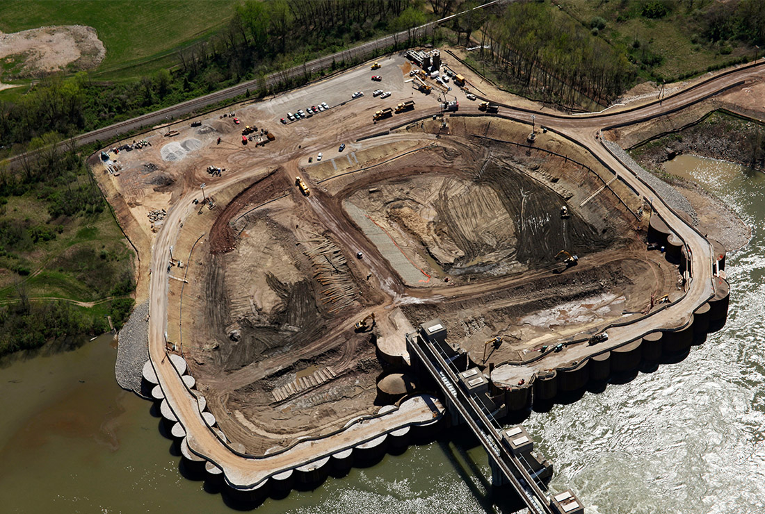The Ruhlin Company - Willow Island Cofferdam & Excavation