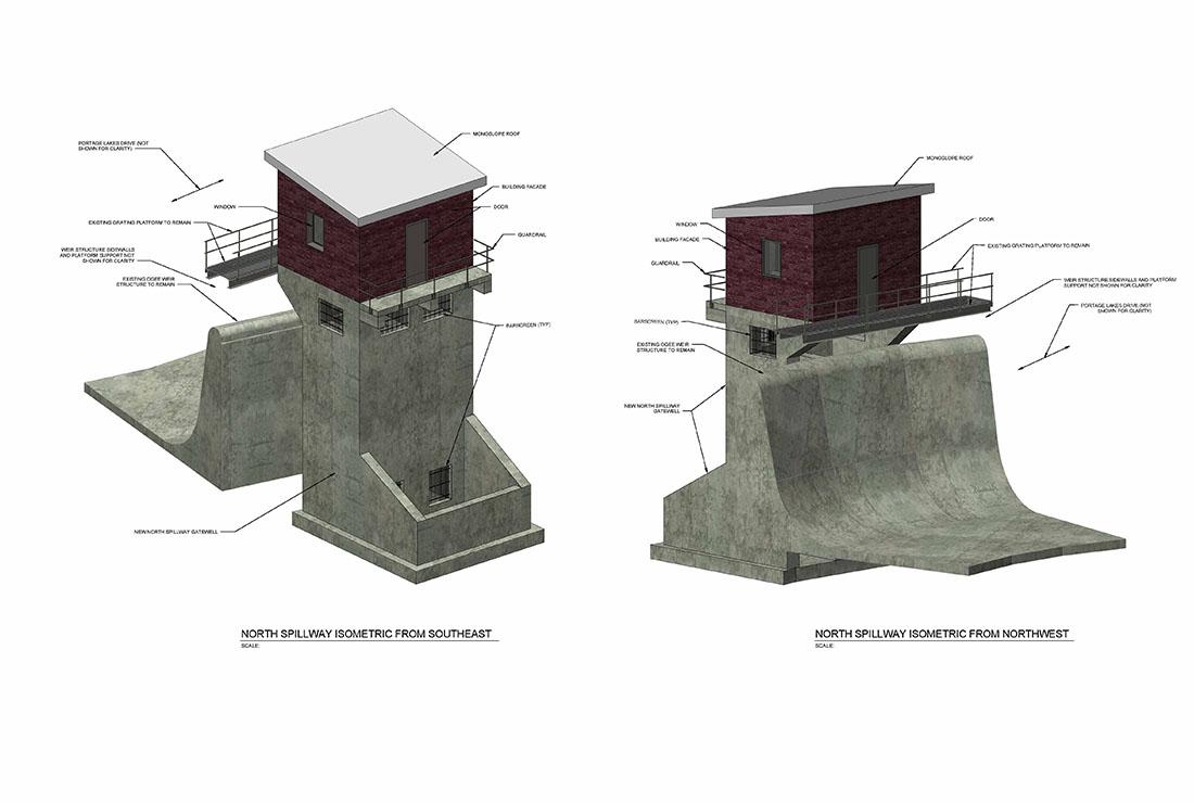 The Ruhlin Company - Portage Lakes East Reservoir Dam Rehabilitation