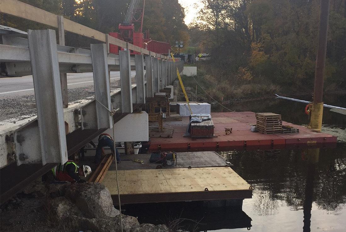 The Ruhlin Company - SR 14 Emergency Bridge Repair