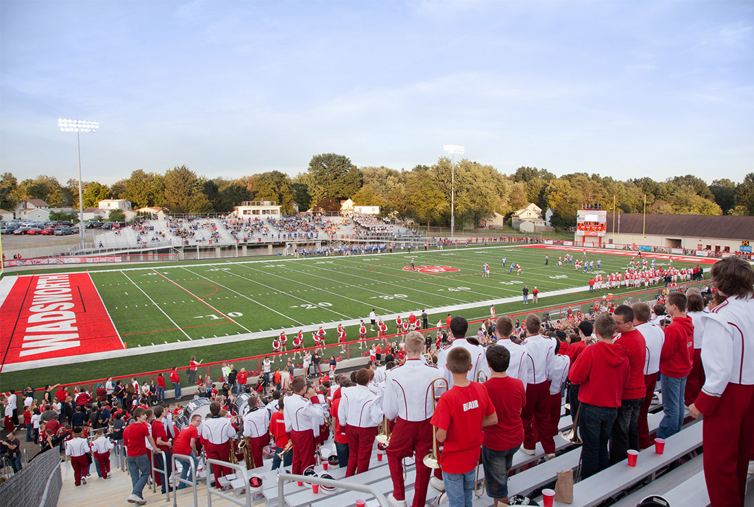 The Ruhlin Company - Wadsworth Art Wright Stadium Renovation