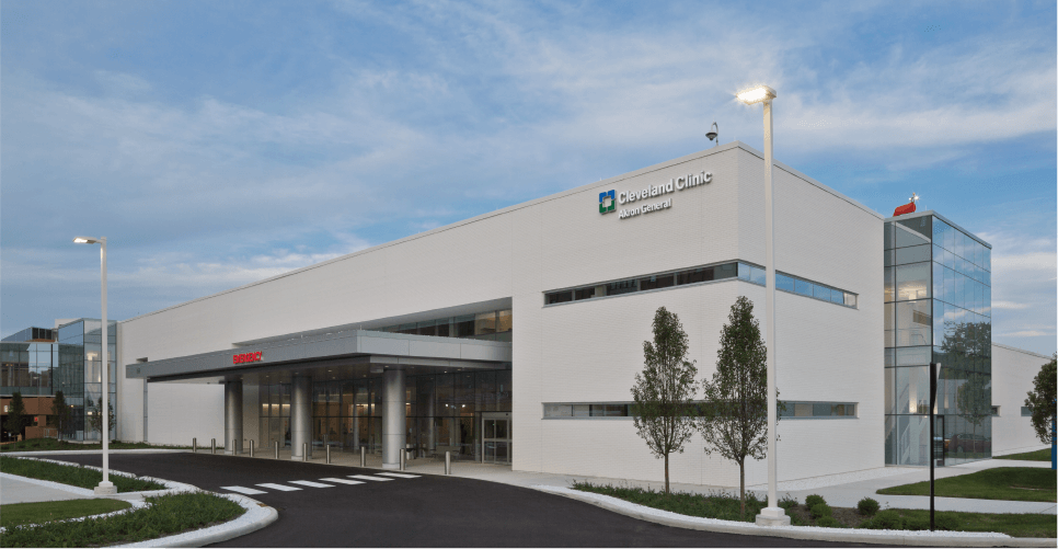 Ruhlin Construction - Cleveland Clinic Akron General Expands, Modernizes With New $49.3 Million Emergency Department