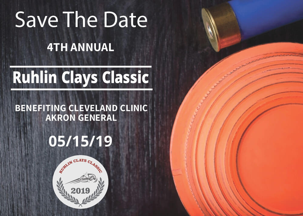 Ruhlin Clays Classic - Save the Date